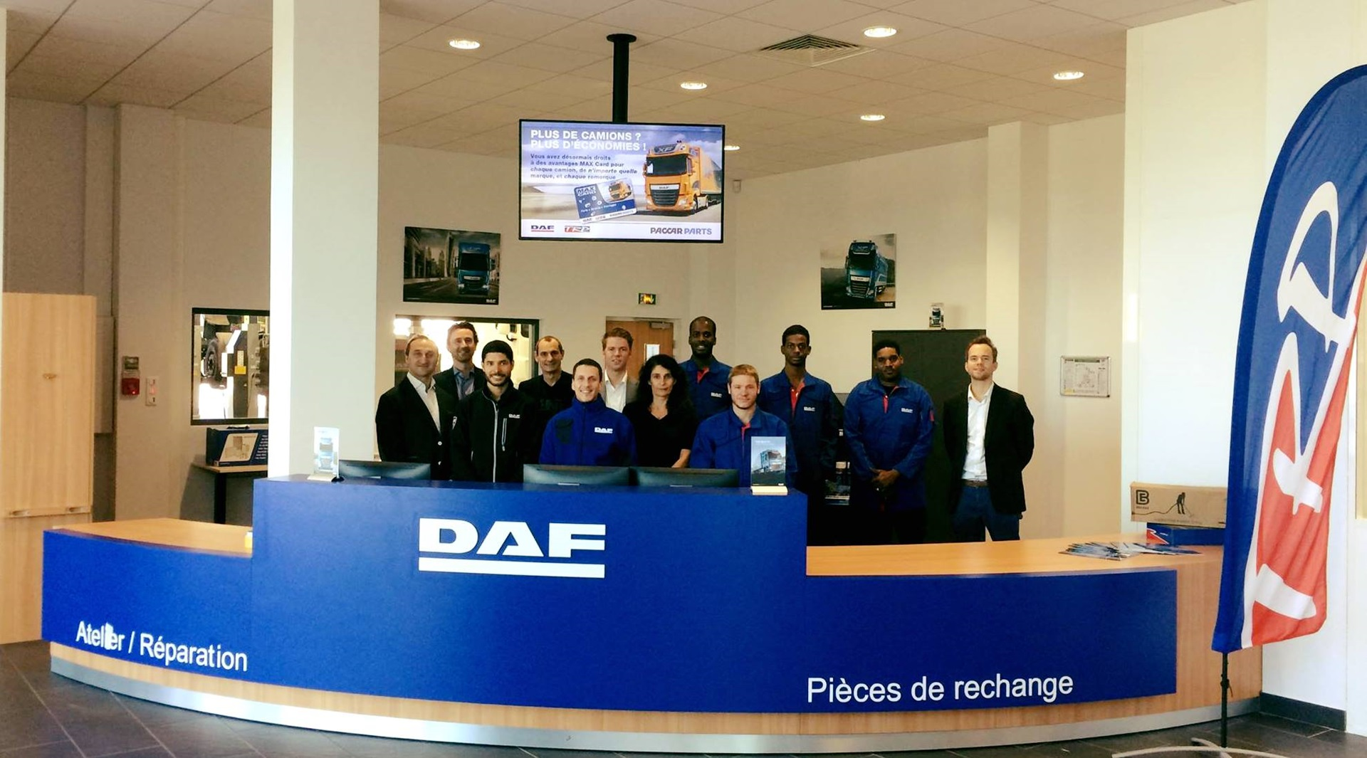 DAF Paris team